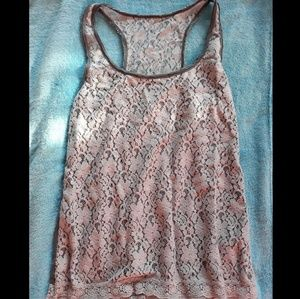 Gray Abercrombie & Fitch tank top